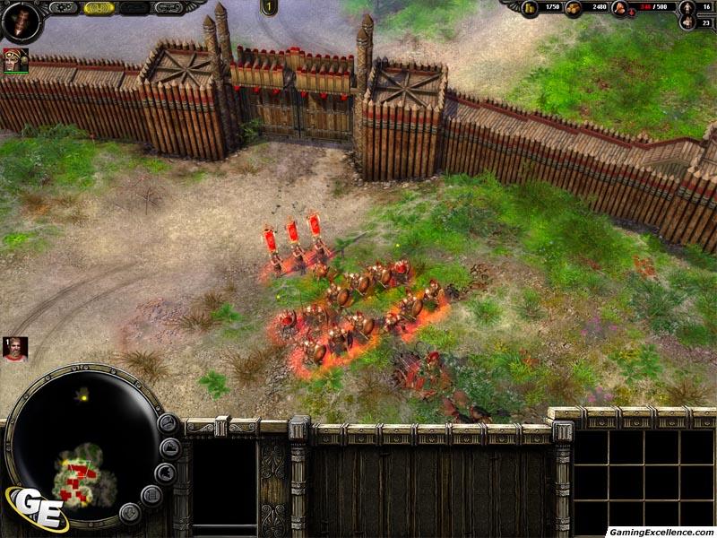 Ancient Spartan Military Barracks