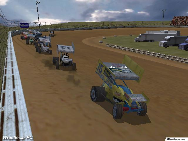 dirt track racing sprint cars gamingexcellence. Black Bedroom Furniture Sets. Home Design Ideas