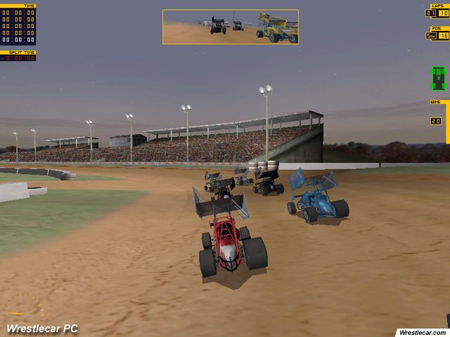 dirt track racing sprint cars screenshots and images gamingexcellence. Black Bedroom Furniture Sets. Home Design Ideas