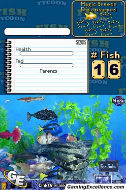 Fish tycoon review gamingexcellence for Fish breeding games