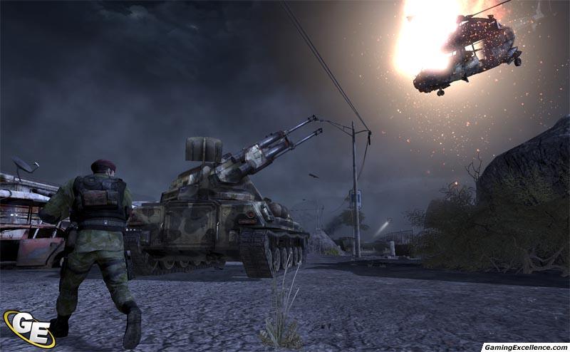 Скриншот из игры Frontlines Fuel Of War для pc.