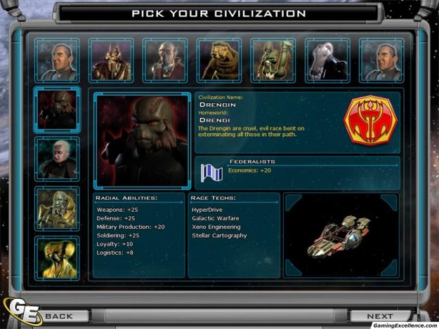 Статьи про Galactic Civilizations 2: Dark Avatar. Статей: 2.