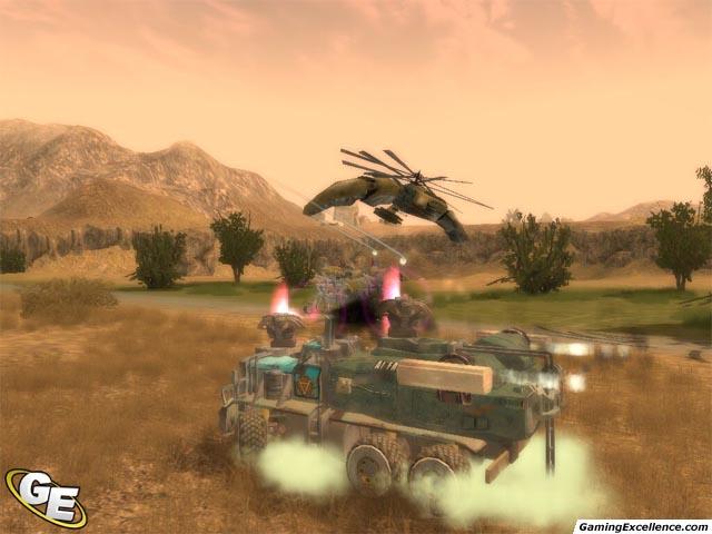 31.08.2005 Новые скриншоты из ExMachina (Hard Truck: Apocalypse) .