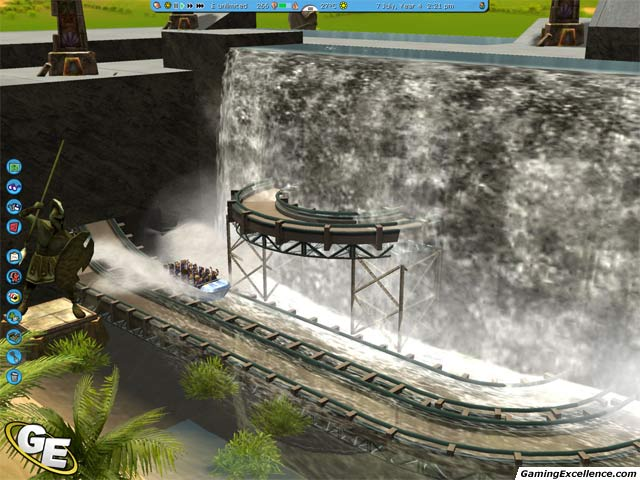 RollerCoaster Tycoon 3: Soaked! - GamingExcellence