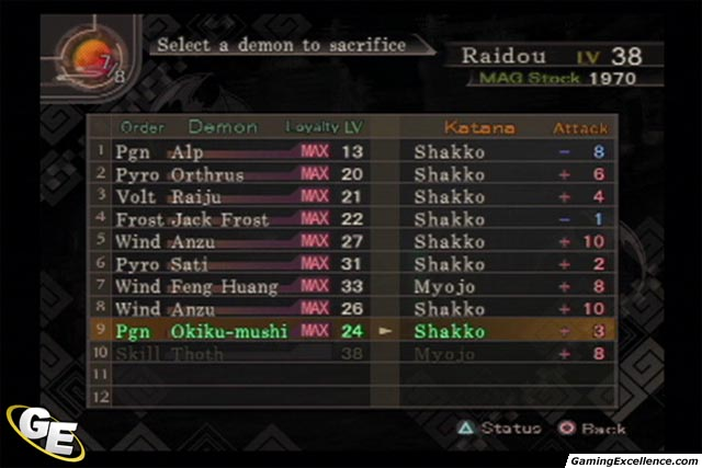 Shin Megami Tensei Devil Summoner Screenshots And Images Gamingexcellence Smt iv flynn , yurlungr and black frost art (source below). gamingexcellence